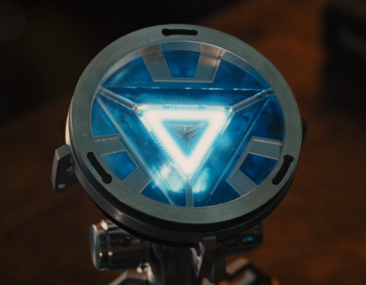 Iron man's arc reactor