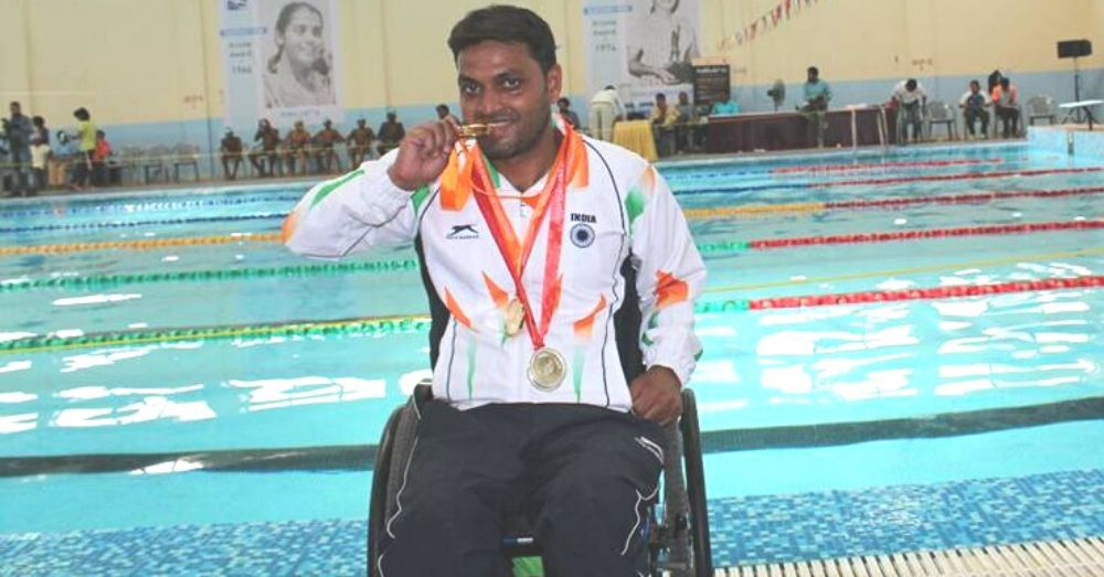 Para Swimmer Shams Aalam