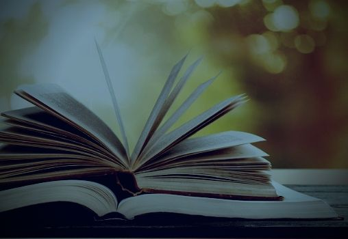 books left open