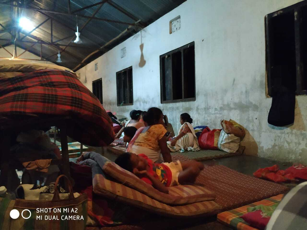 Around 27,308 people took shelter in 193 relief camps