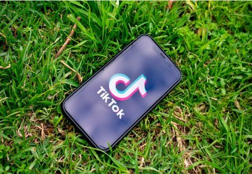 tiktok app on phone
