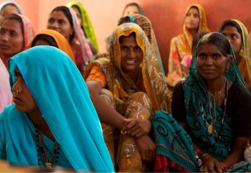rural India women
