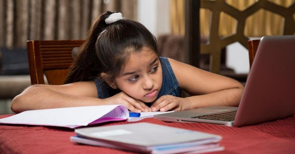 online class stress