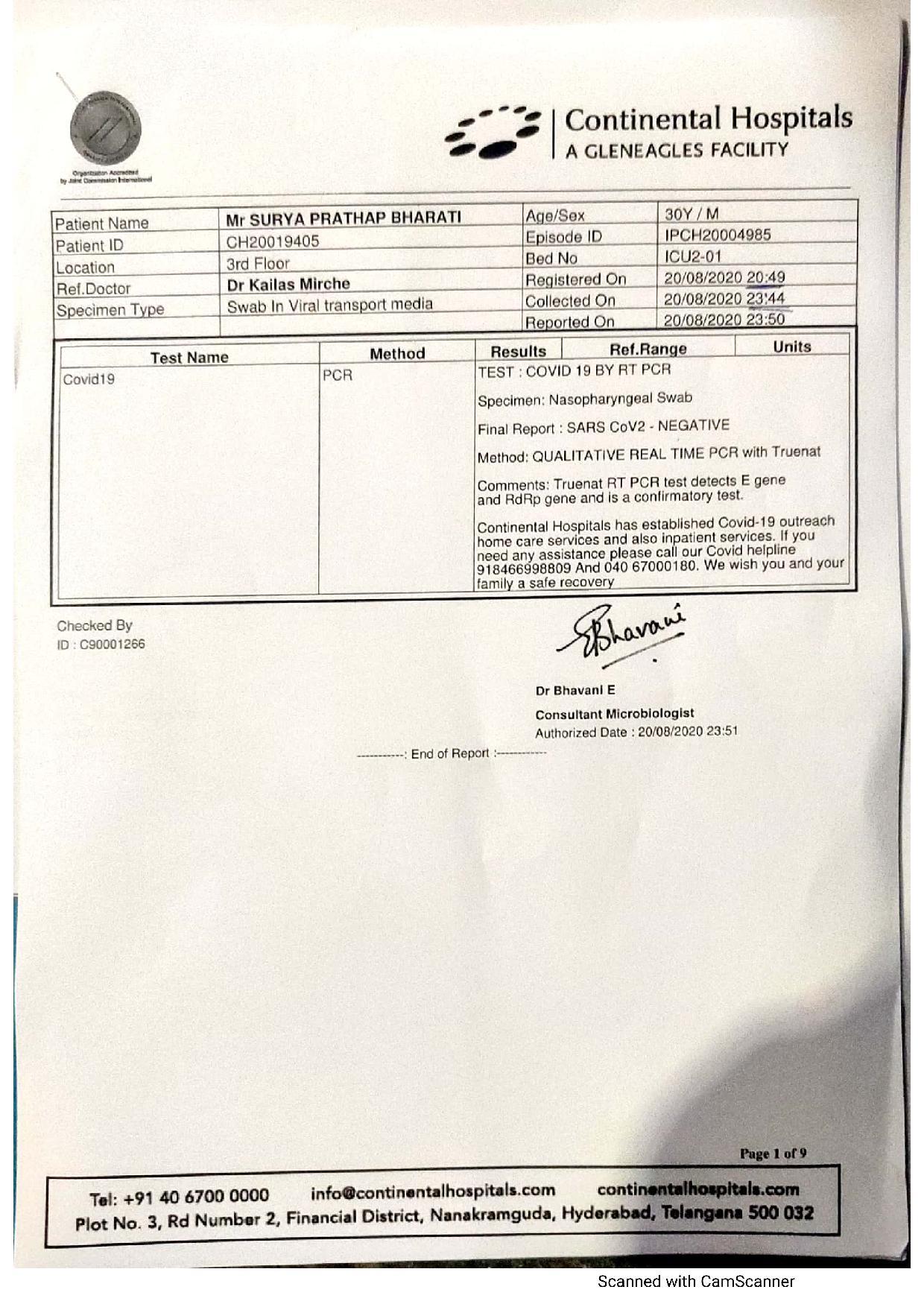 Hyderabad Medical Negligence Case