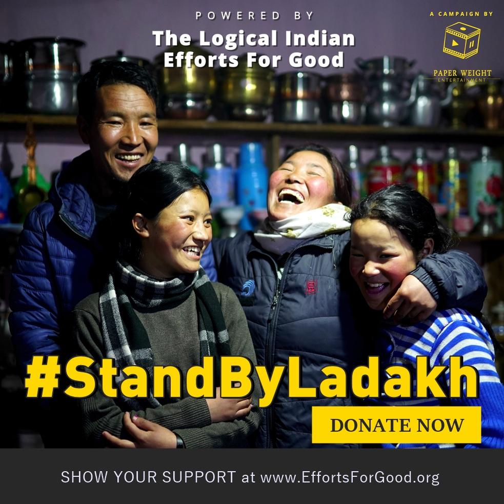 #StandByLadakh