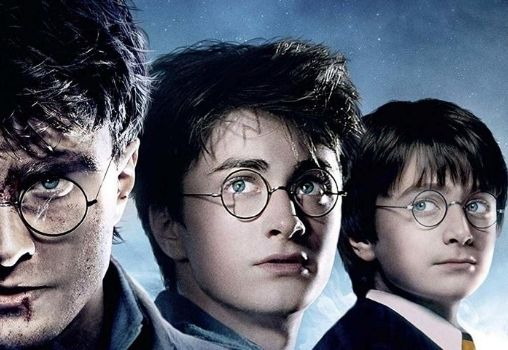 harry potter from young to old