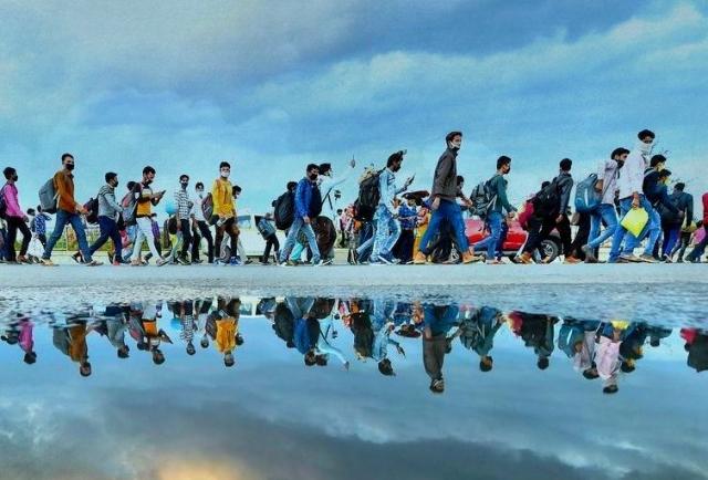 Reverse migration.