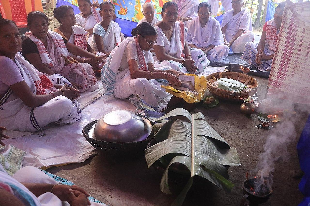 Tuloni Biya Ceremony