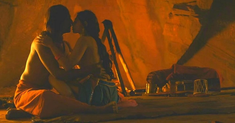 A still from the movie Parched