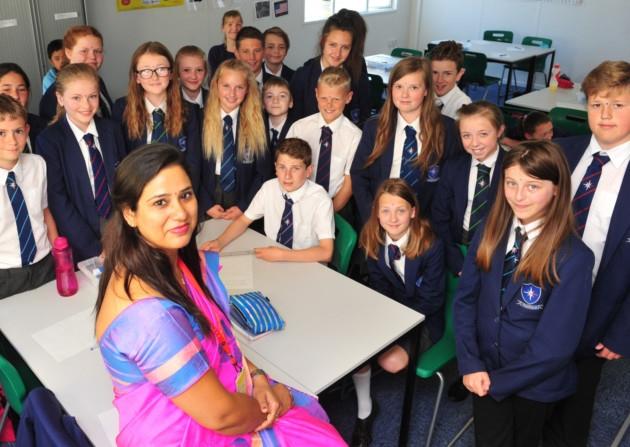 indian teacher abroad