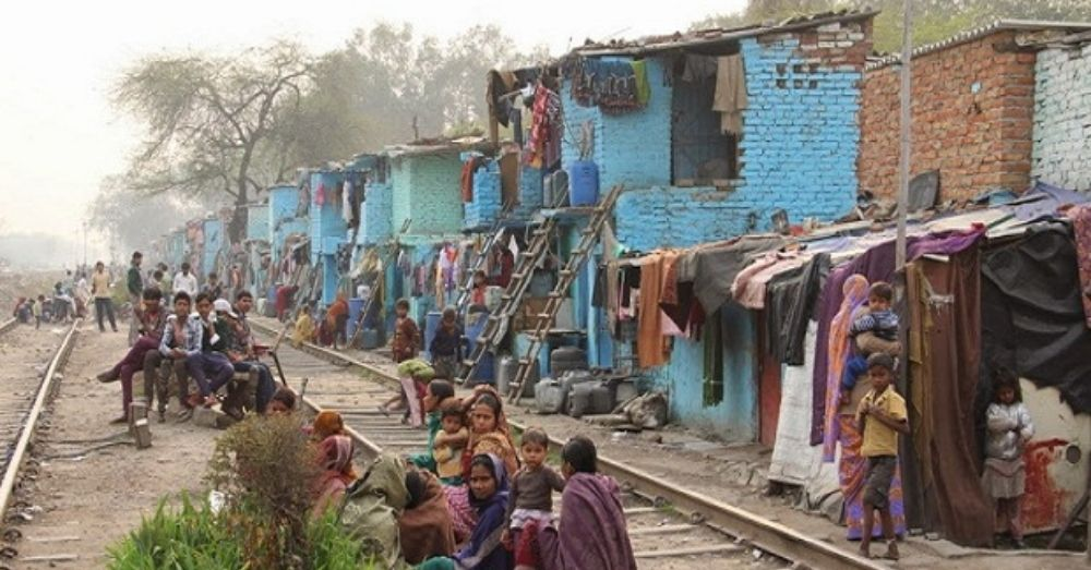 railway slums