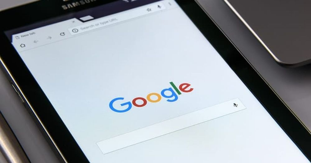 google search on a phone or tablet