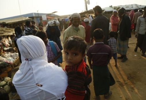 rohingya refugee child