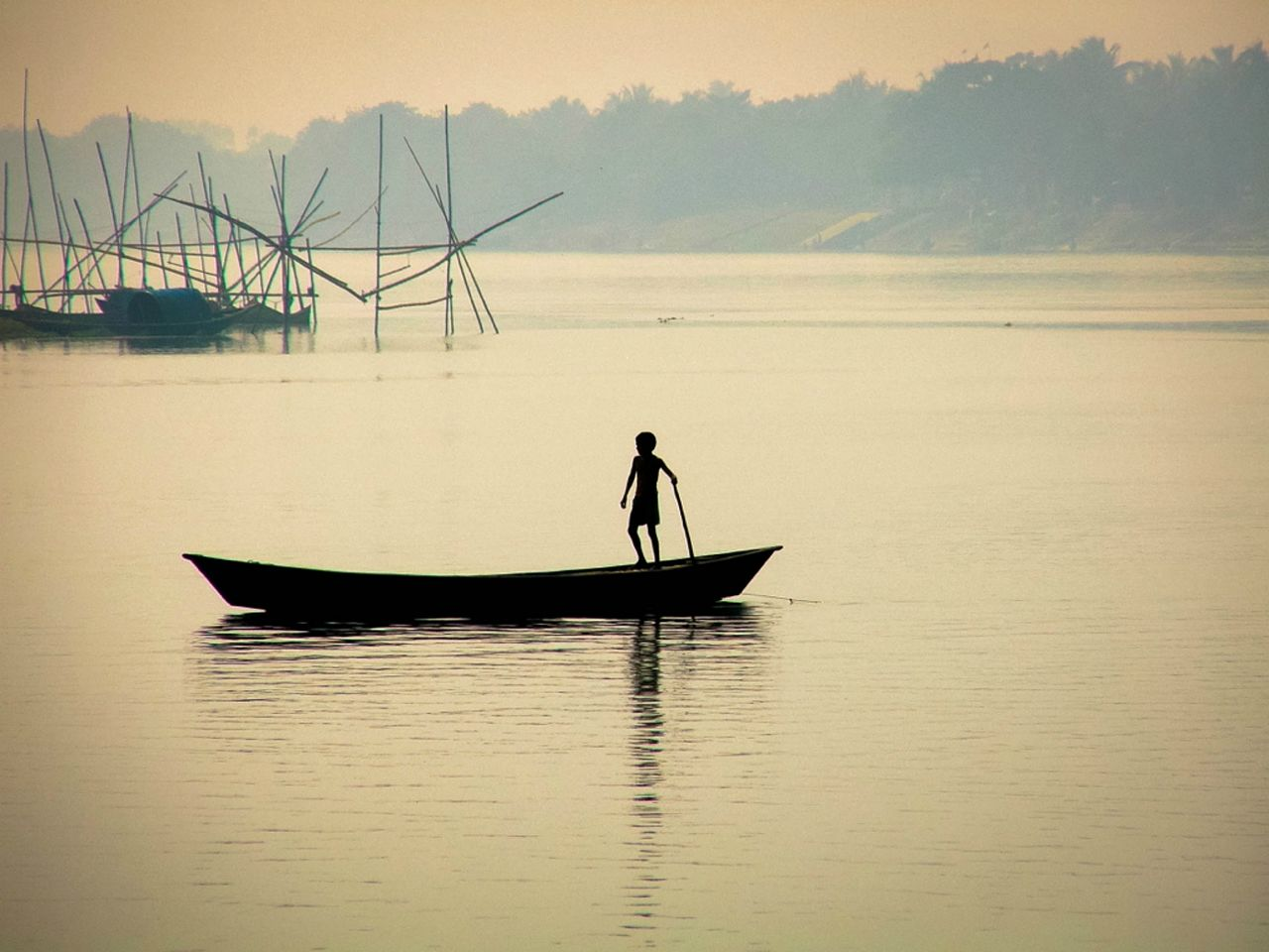 West Bengal Fisher Boat