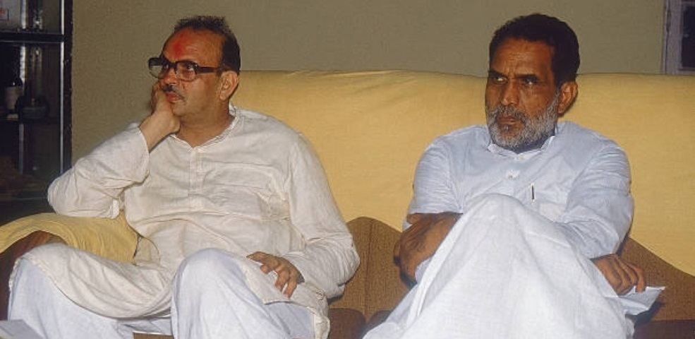 VP Singh and Chandrashekhar, were two tall Socialist leaders of Rajput background who stood against Communalism