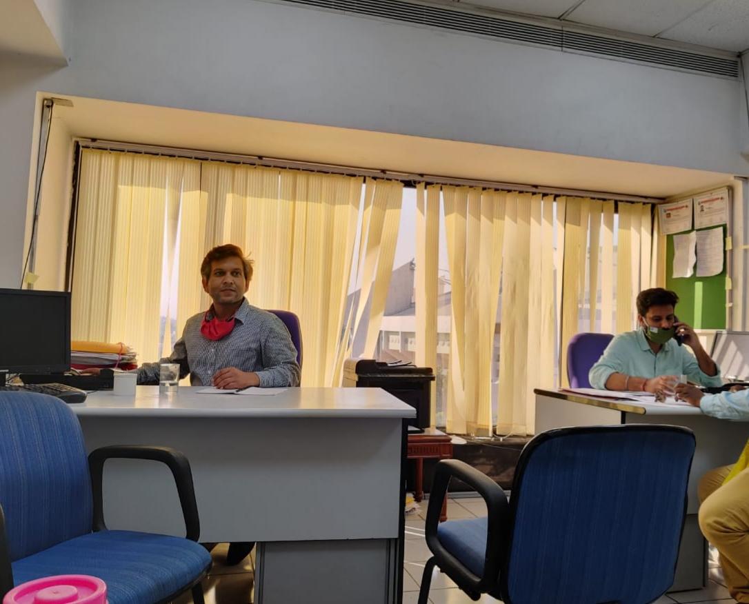 Office premises