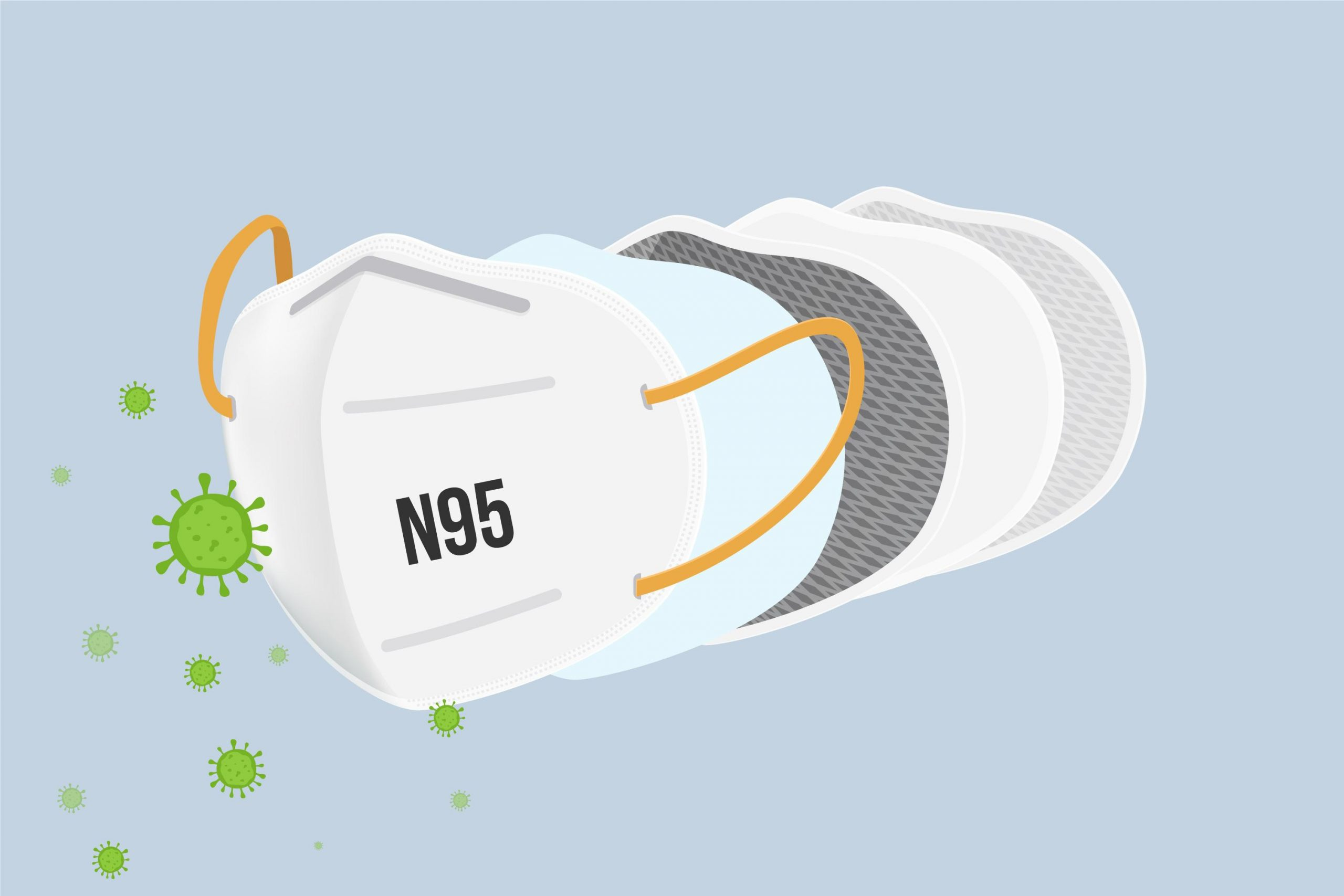 n95 pollution mask for covid19
