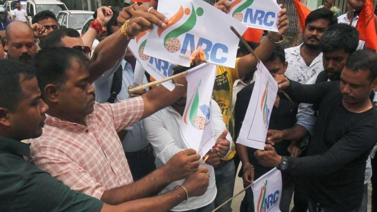nrc protest assam