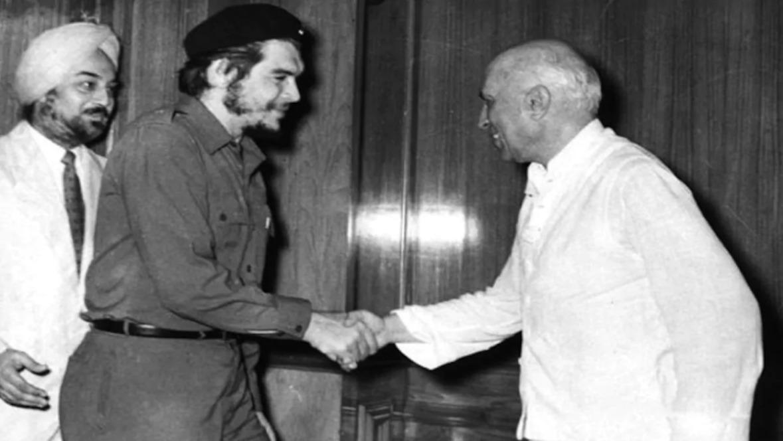 nehru meets che guevara