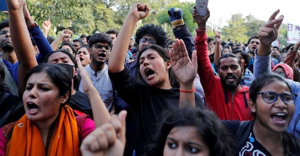 india youth protest