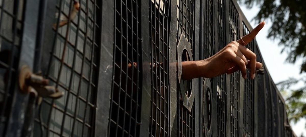 dissent jail