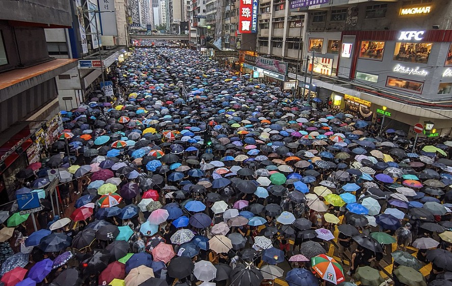 umbrella protests