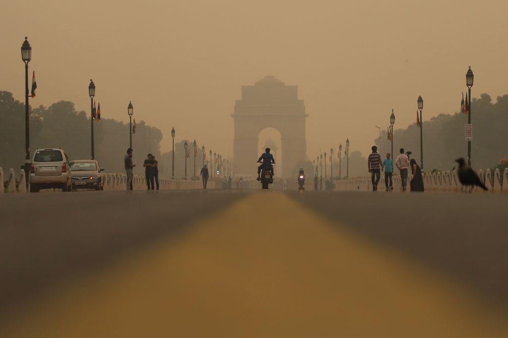 Air Pollution In Delhi, India
