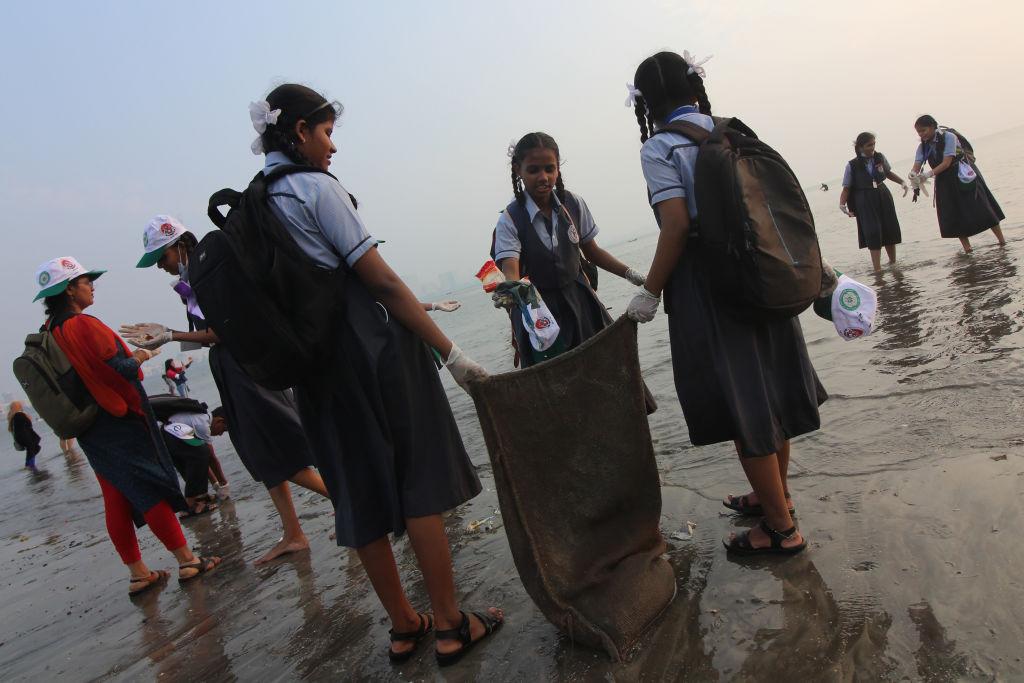 Beach Clean-up In Mumbai