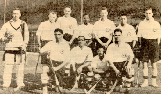 Indian_hockey team 1928 Olympics