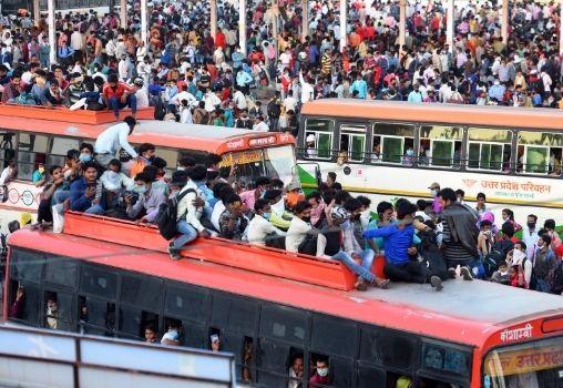 migrants india