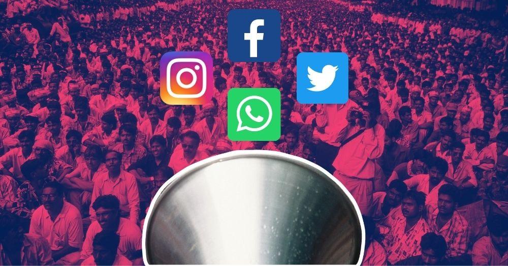 social media protests