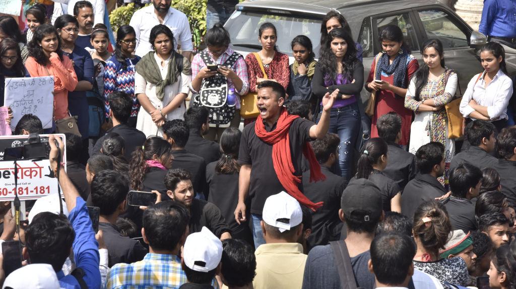 Women Participate In The Rape Roko Campaign Organized By Delhi Women Commission