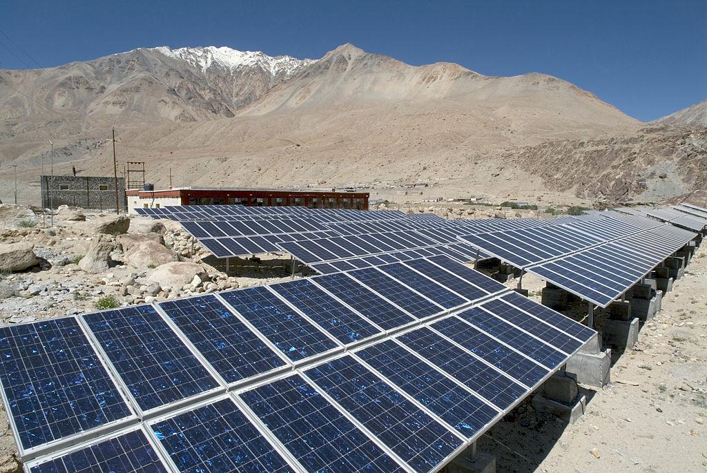Solar Power Plant, Ladakh Ecological Developement Group.
