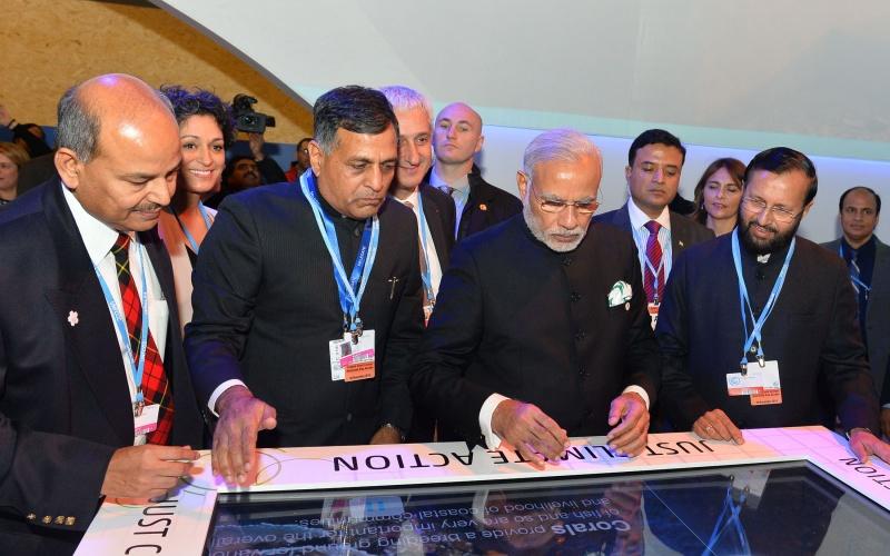 Modi Paris Agreement