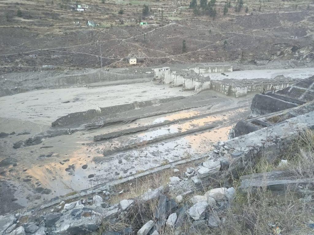 India: 26 dead as glacier bursts in Uttarakhand