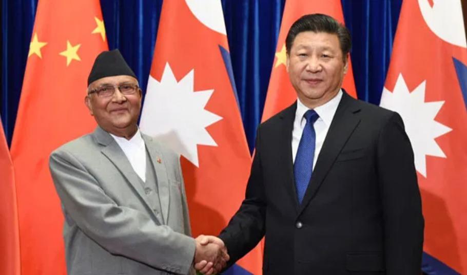 PM Oli and President Xi