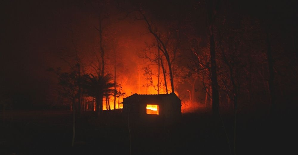 similipal forest fire