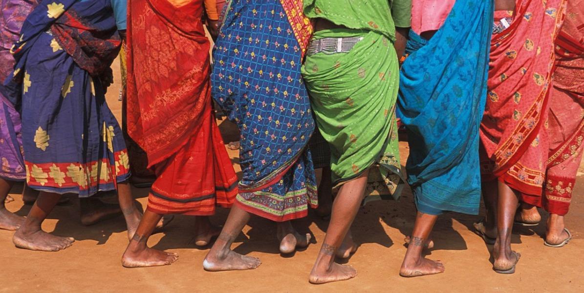 Adivasi Women Dancing