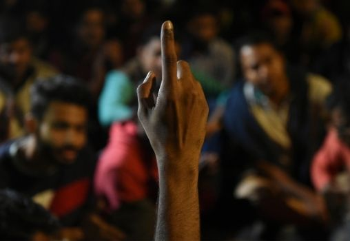 protest india student leaders