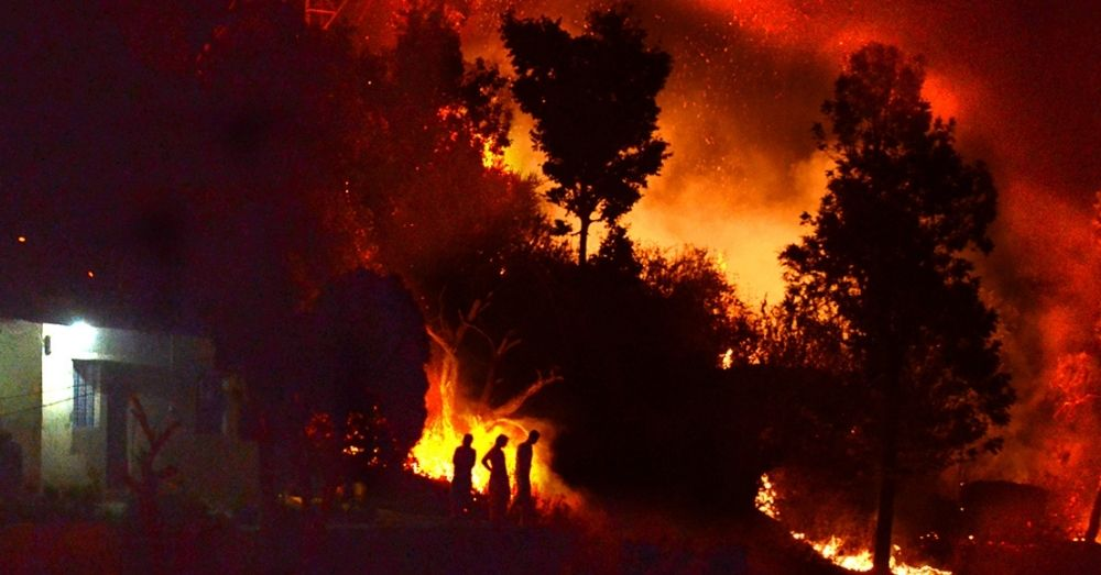 Uttarakhand Forest Fire Continues, 2270 Hectares Affected