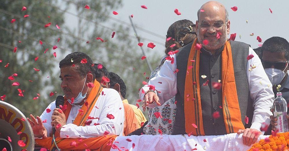 Amit Shah Bengal Rally