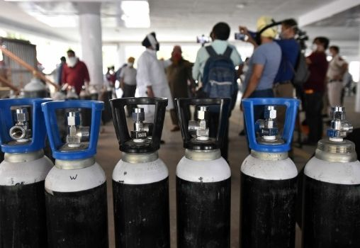 India Faces Oxygen Crisis As Covid-19 Cases Mount
