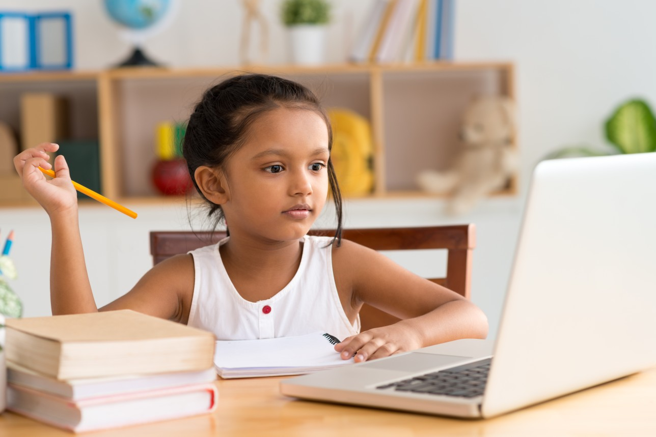 Online school education for school students in India