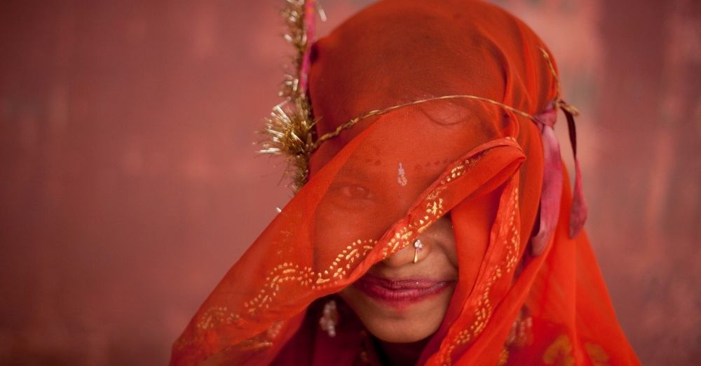 a young bride in jodhpur