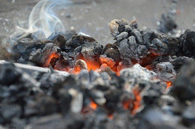 fire ash embers