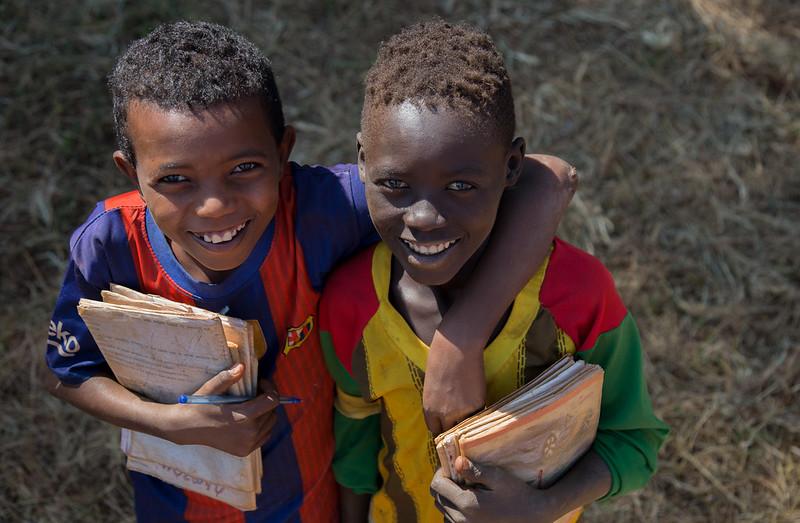 Ethiopia Child Refugees School