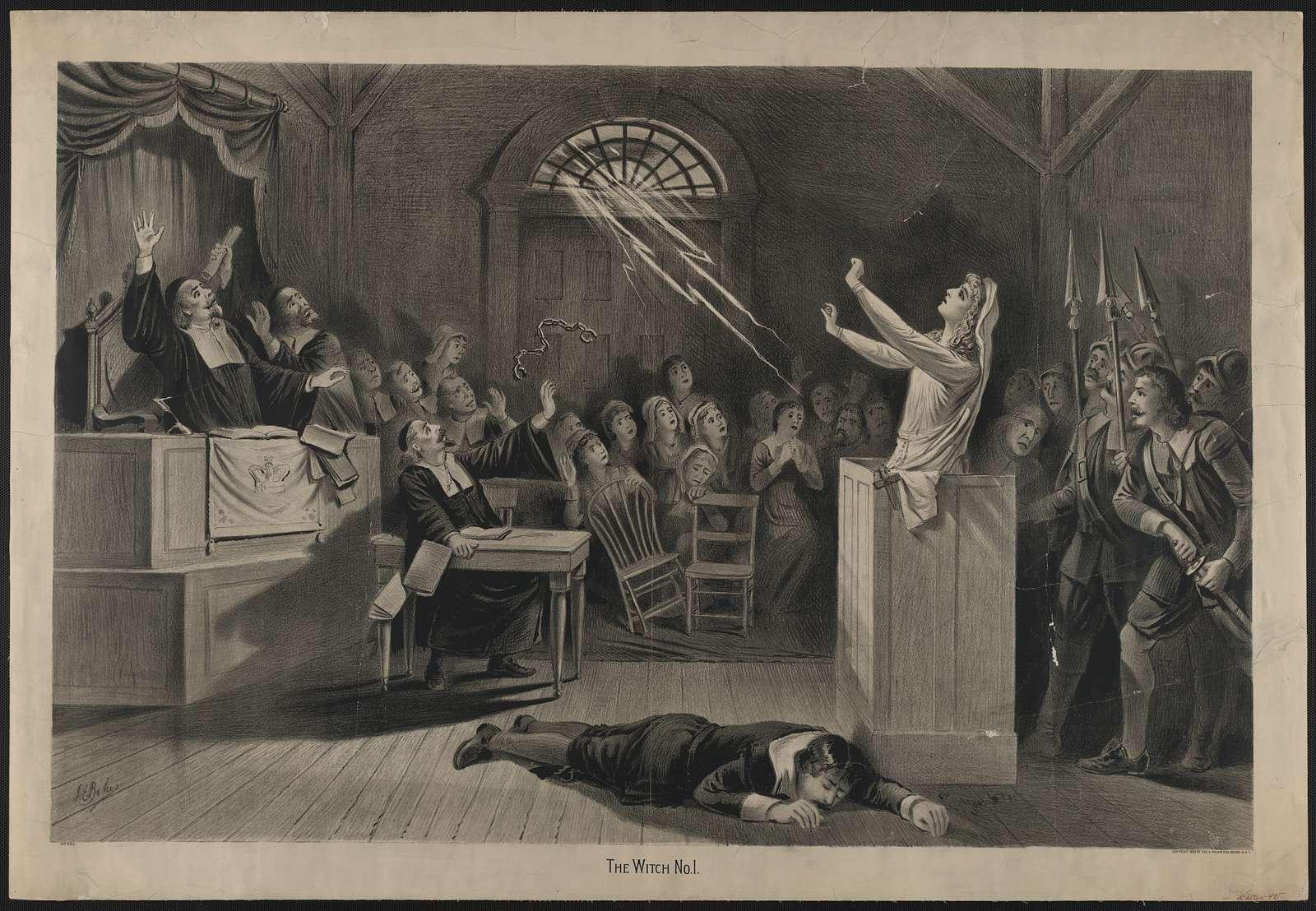 witch hunt salem trials