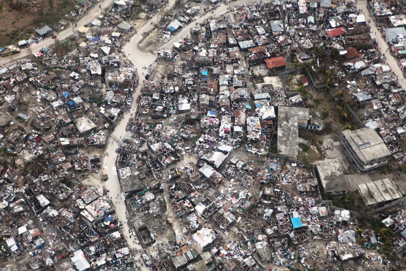 haiti after hurricane mathew