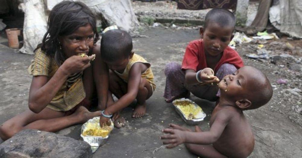 गरीबी रेखा के नीचे आने वाले व्यक्ति