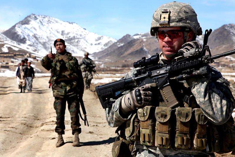 U.S. Soldier in Afghanistan
